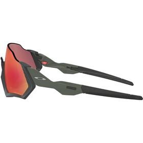 Oakley Flight Jacket Lunettes de soleil, matte steel/prizm trail torch